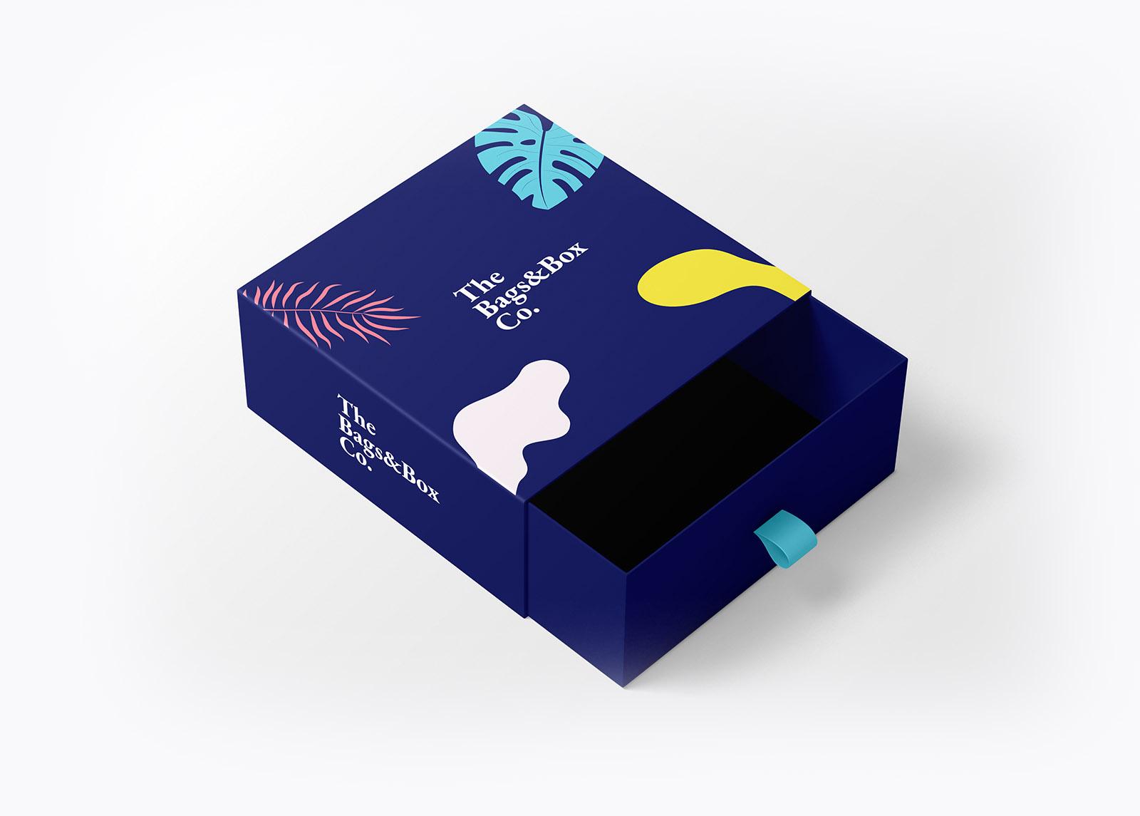 Boîte tiroir en carton